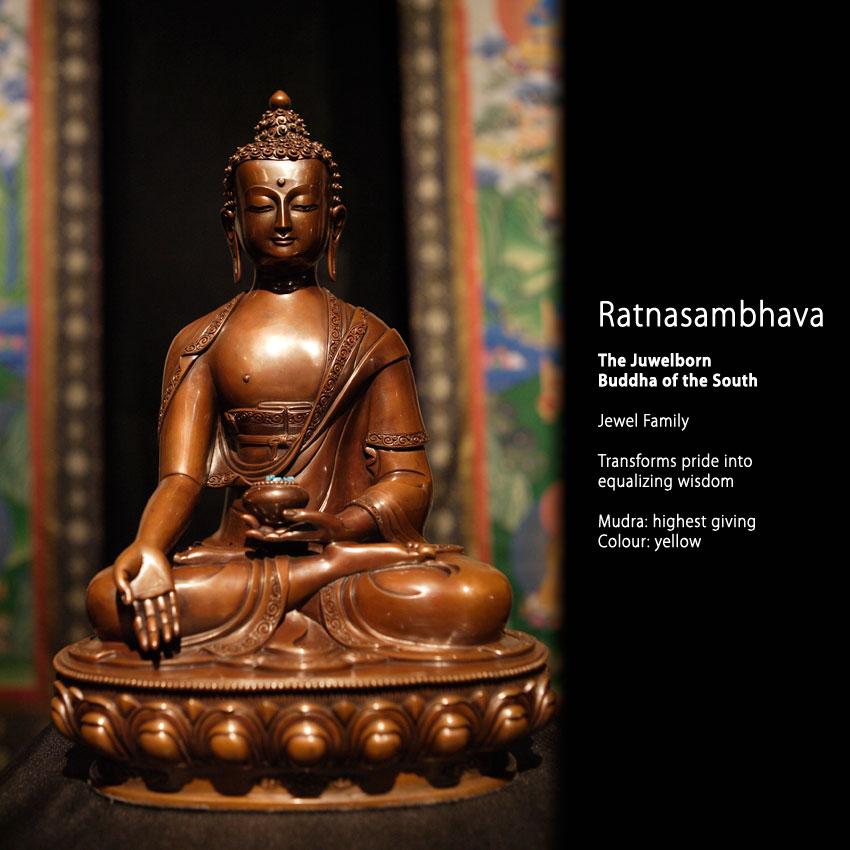 Europe Center Blog - The Five Buddha Families