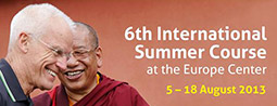 6th International Summer Course 2013 program