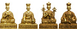 Buddhist statues – an evening with Caty Hartung and Gergely Porkoláb